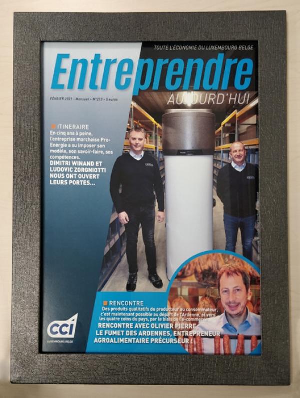 """Article """"Entreprendre aujourd'hui"""""""