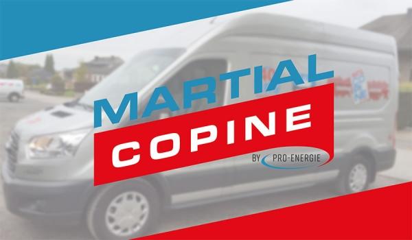 Martial Copine et Pro-Energie s'unissent pour le meilleur