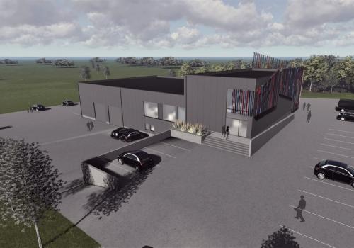 Nouvel entrepôt Pro-Energie SPRL