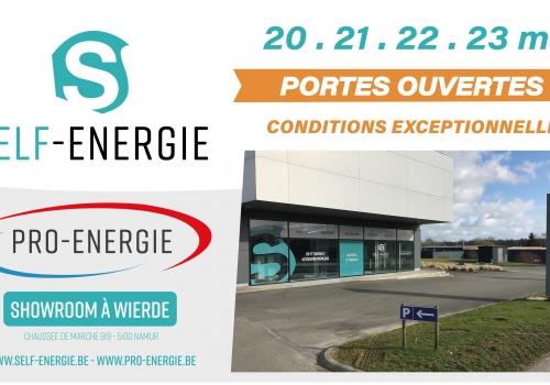 Week-End Portes Ouvertes Du 20 au 23/03 - Showroom Namur