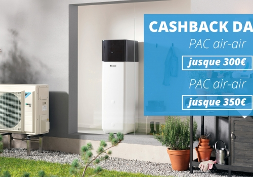Cashback Daikin - Conditions Batibouw